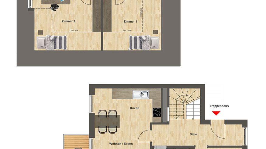 Höfe am Kaffeeberg Grundriss Haus A2 - Wohnung 5