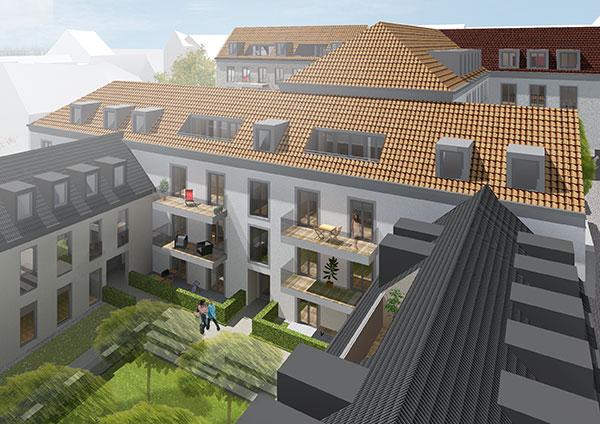 Höfe am Kaffeeberg Haus A1 - Blick Vom Gesandtenbau
