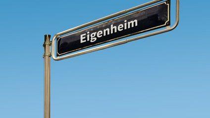 Schild Eigenheim