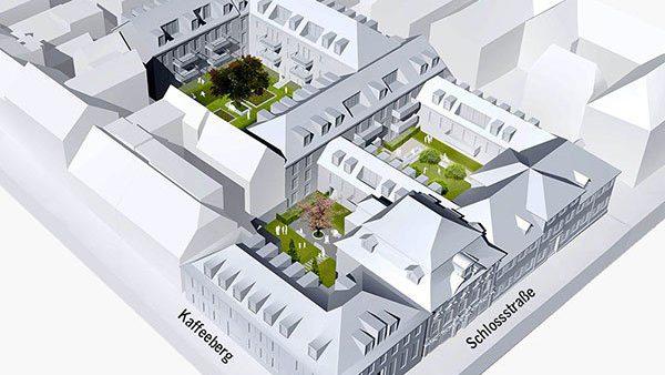 Projekt Höfe am Kaffeeberg, Ludwigsburg, Übersicht Planung